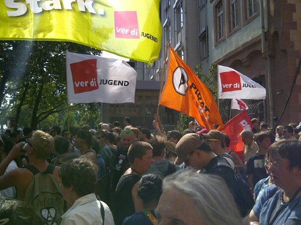 Kundgebung gegen die NPD
