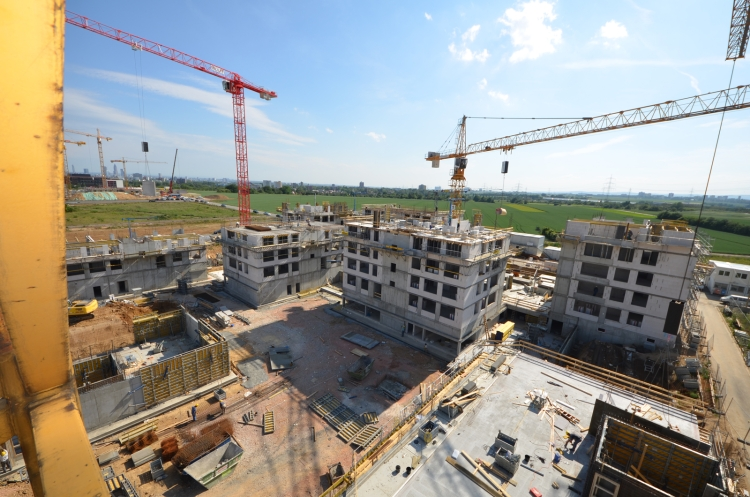 Wohnungsbau auf dem Riedberg
