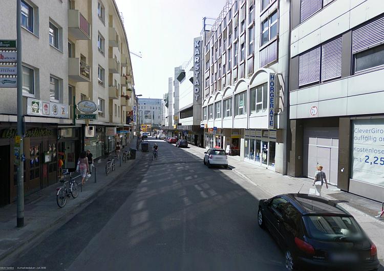 Schäfergasse (Google Street View)