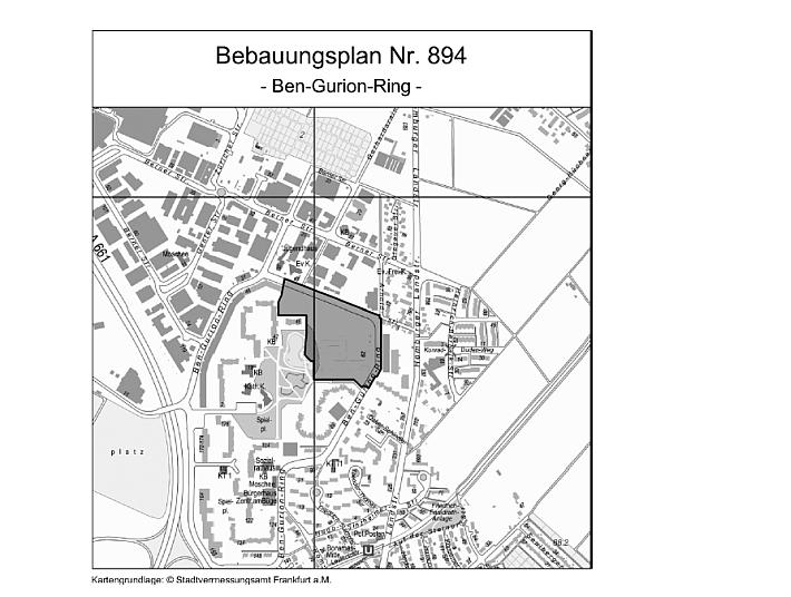 Bebauungsplan Ben-Gurion-Ring