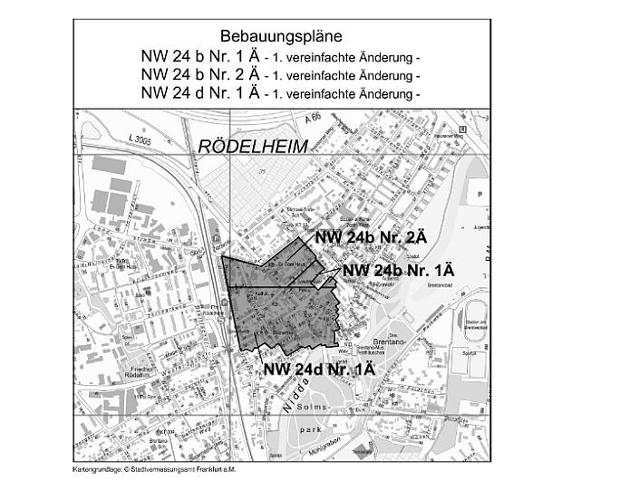 Bebauungsplan Rödelheim