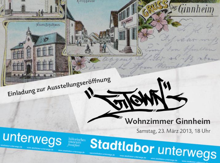 Einladung Wohnzimmer Ginnheim