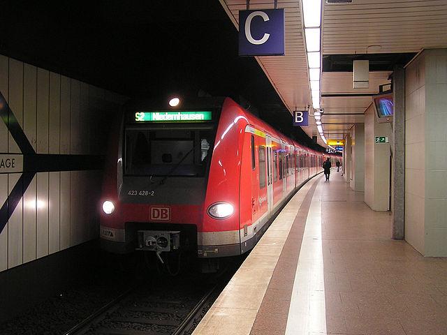 S-Bahn Taunusanlage