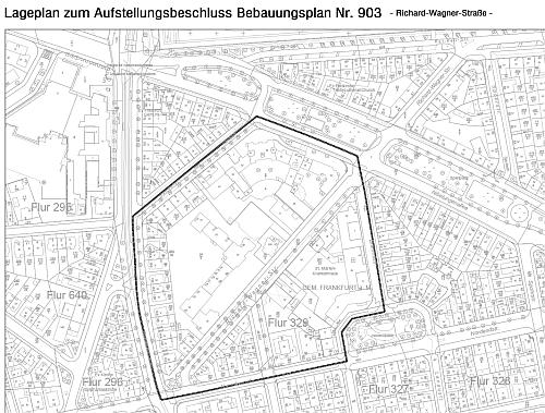 B-Plan Richard-Wagner-Straße