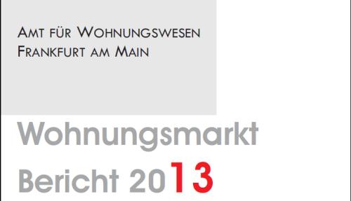 Wohnungsmarktbericht 2013