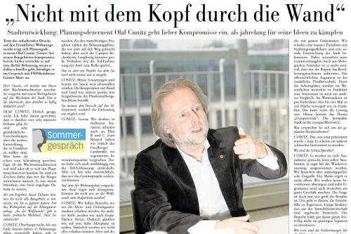 FNP 08.08.14 Interview (Ausschnitt)